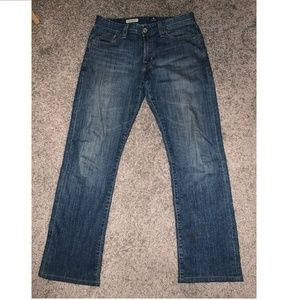 Adriano Goldschmied Protege Mens Straight Jeans 30